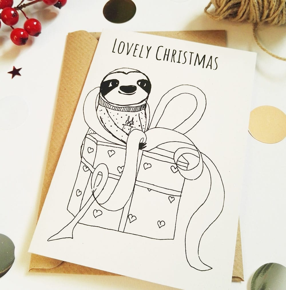 lovely-christmas-faultier-weihnachtskarte-lovelysloth-2
